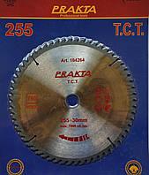 104251 Диск пильний  Prakta   Т.С.Т. для дерева 250*32(30;25,4)мм*56Т