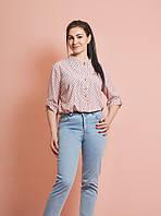 Летняя женская блузка .Размеры 52, 54, 56, 58
