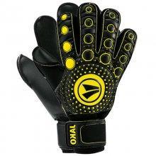 Вратарские перчатки Jako Medi Protection 2517-15 цвет: черный/желтый