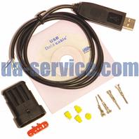 Универсальный набор для самостоятельной сборки кабеля настройки ГБО, фото 1