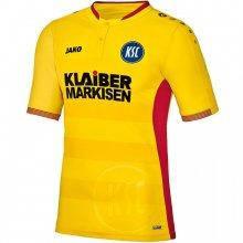 Футболка Jako Karlsruher SC Ausweich KA KA4216I-03 цвет: желтый