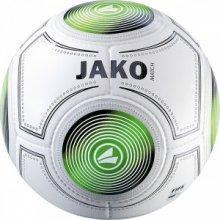 Мяч футбольный Jako Match FIFA размер 5 2323-18 цвет: белый/черный/зеленый