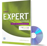 FCE Expert 3rd Ed (2015) Coursebook + CD with MyEnglishLab / Учебник английского языка
