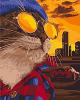 Картина по номерам Дерзкий кот, 40x50 см в подарочной упаковке