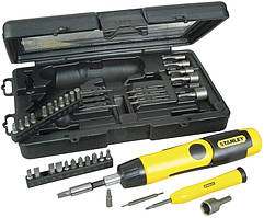 Набор инструментов 38пр. STANLEY Pistol Grip Ratchet 0-63-038
