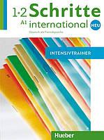 Schritte international Neu 1 + 2, Intensivtrainer mit Audio-CD / Тесты с диском немецкого языка