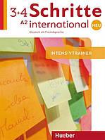 Schritte international Neu 3 + 4, Intensivtrainer mit Audio-CD / Тесты с диском немецкого языка