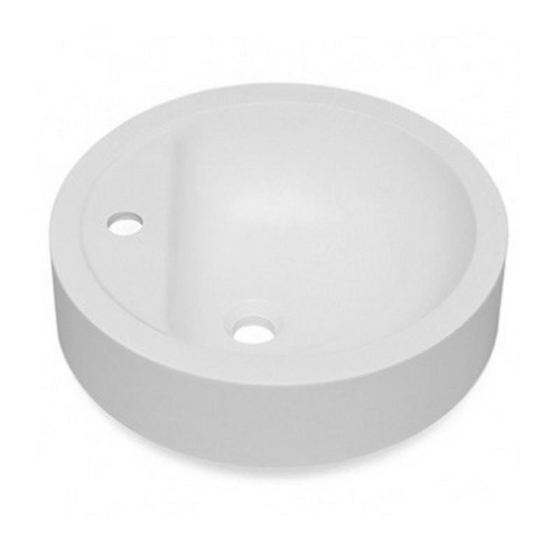 Умывальник в ванную комнату белый Fosto