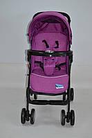 Коляска прогулочная labona FK8111AB purple 6 кг музыкальная панель (коляска-книжка Лабона)