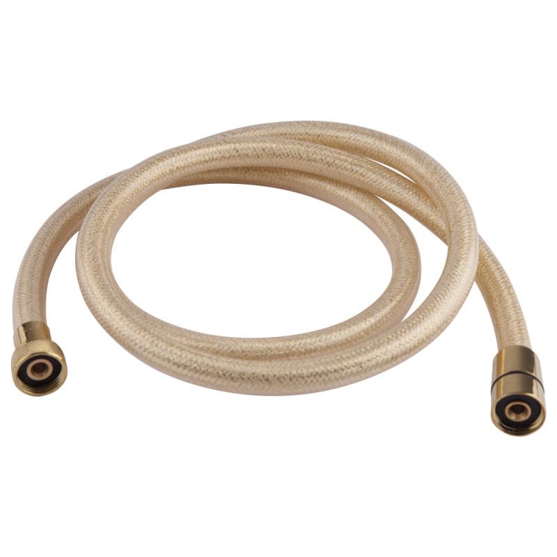 Душевой шланг 1/2 из силикона 120 см  Bianchi FLS455120AB9ORO цвет золото Италия