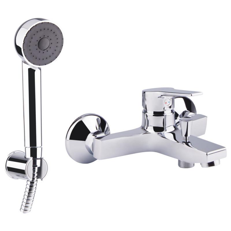 Однорычажный латунный смеситель для ванны Bianchi Bonny VSCBON2004#SKCRM Италия