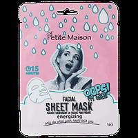 Тонизирующая маска-патч для лица Petite Maison