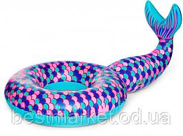 Надувной Круг для Плавания Хвост Русалки