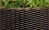 Набор больших горшков для цветов, коричневый , фото 4