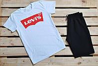Мужской набор футболка и шорты левайс LEVIS реплика, фото 1