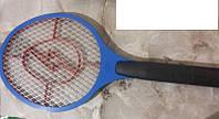 Уничтожитель насекомых мухобойка ракетка fly-swat на батарейках, фото 1