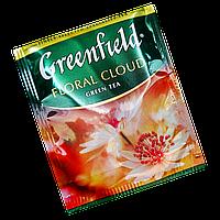"""Чай зеленый пакетированный  Greenfield """"Floral Cloud"""" 100шт (полиэтиленовый пакет)"""