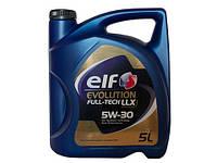 Моторное масло ELF 5W30 EVOLUTION FULL-TECH LLX ( VW 504/507 ; BMW LL-04 ; MB 229.51 / ACEA C3 ) 5L синтетика