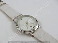 Мужские наручные часы Movado 013274 белые с серебром