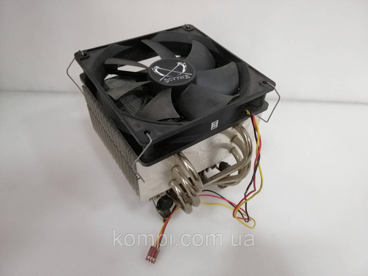 Кулер башня  S775 socket Intel б у мідь !!