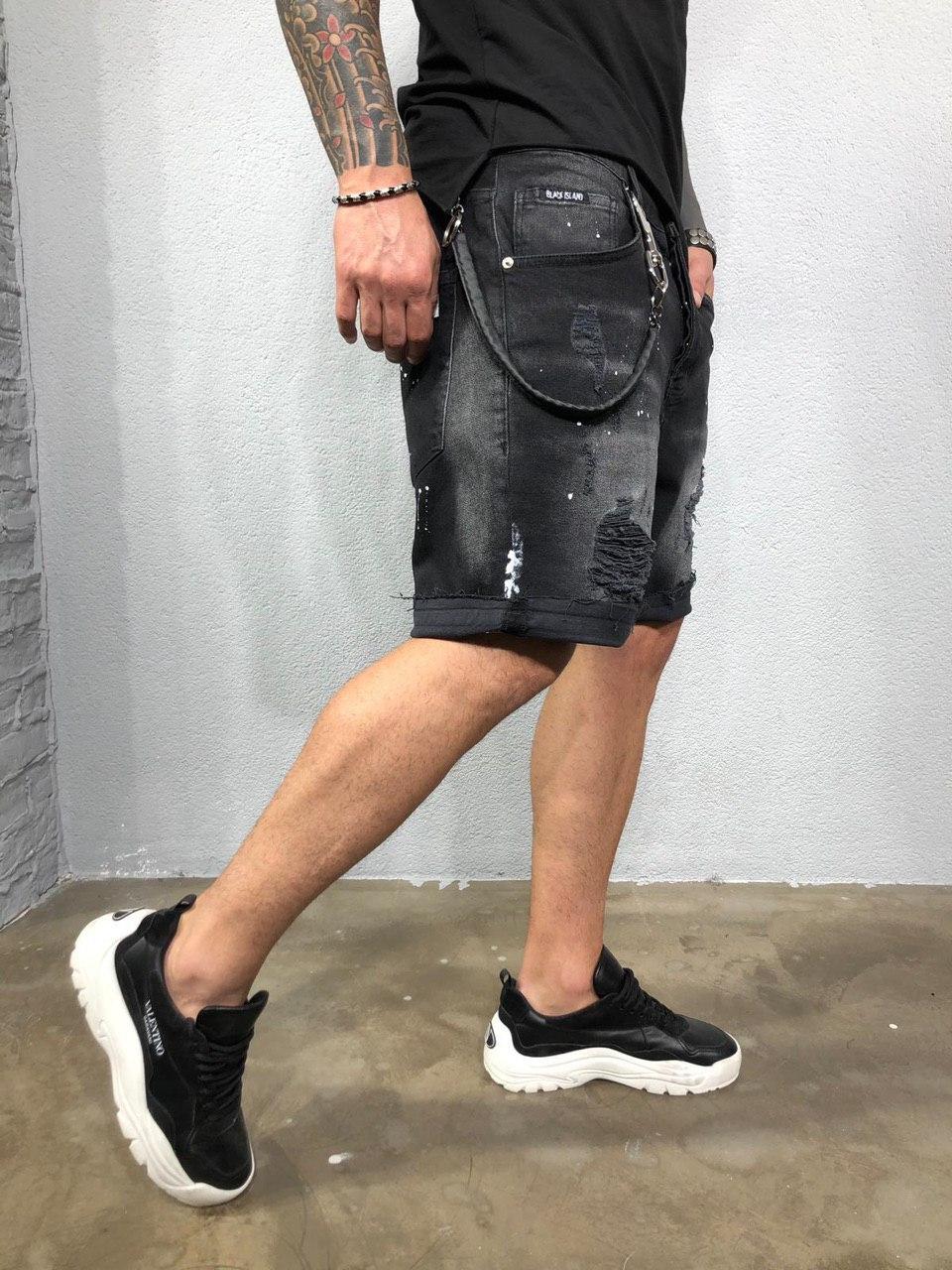 😜 Шорты - мужские джинсовые шорты