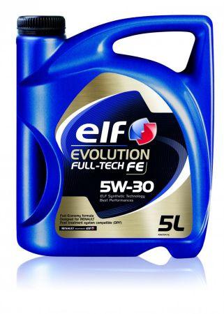 Моторное масло ELF 5W30 EVOLUTION FULLTECH FE (ACEA C4 RENAULT RN0720) 5L синтетика