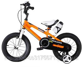 Детский велосипед Royal Baby Freestyle RB16B-6 ОРАНЖЕВЫЙ