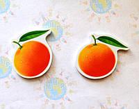 Апельсин. Магнит обучающий