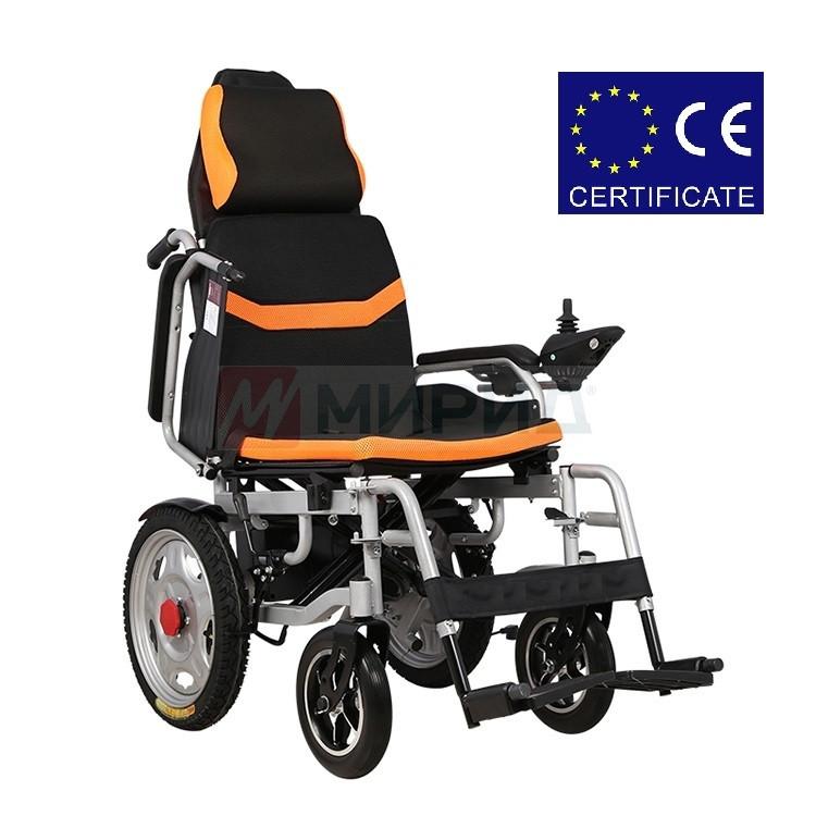 Складная инвалидная электроколяска DYL – 6036A. Инвалидная коляска. Кресло коляска.