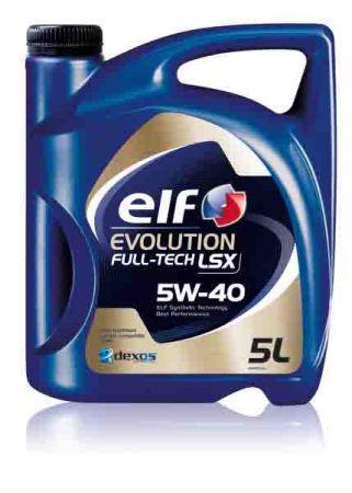 Моторное масло ELF 5W40 EVOLUTION FULLTECH LSX (ACEA C3, VW 505.01, MB 229.31) 5L
