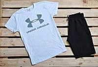 Мужской набор футболка и шорты андер армор UA (Under Armour) реплика, фото 1