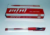 Ручка гелевая MIMI GEL INK PEN красная, 12 шт