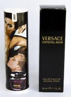 Женский мини парфюм Versace Crystal Noir Travel Tube 50 мл
