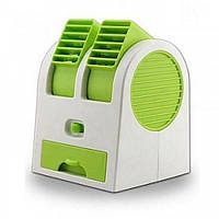 Мини кондиционер Conditioning Air Cooler USB Electric Mini Fan (Air Fan-green)