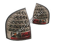 Задние фонари Лада Калина (ВАЗ 1118) седан, светодиодные, тонированный/черный