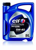Моторное масло ELF 5W40 EVOLUTION 900 SXR ( ACEA A3/B4 , API SN/CF, RENAULT RN0700/RN0710) 5L синтетика