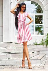 Летнее платье в полоску  JD Тая в 3х цветах