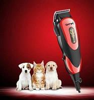 Профессиональная машинка для стрижки кошек и собак, вычесывания Gemei GM-1023