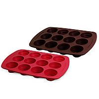 Форма для выпекания кексов KAMILLE  KM-7755 (38,5х27х1,5 см)