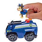 Щенячий патруль Машинка спасателя и щенок Чейз (Гонщик) Paw Patrol  Chase's Cruiser, фото 3