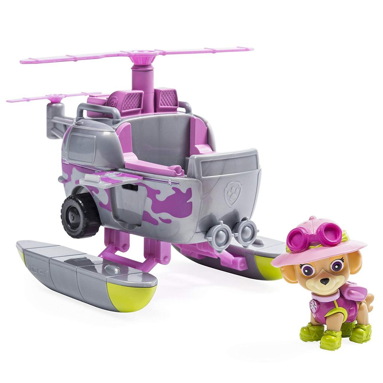 Щенячий патруль Paw Patrol Джунгли Скай и Вертолет  Jungle Rescue Skye's Jungle Copter