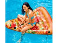 Пляжный Надувной Матрас Плот Intex 58752 Пицца 175 х 145 см