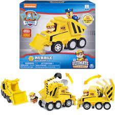 Щенячий патруль Paw Patrol Чрезвычайная миссия Крепыш и бульдозер Ultimate Rescue Rubble's Bulldozer