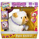 Интерактивная игрушка Щенок Вринкл Люблю целоваться Little live pets Wrinkles Moose, фото 4
