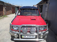 Козырек на лобовое Mitsubishi Pajero Wagon (1990-2000)
