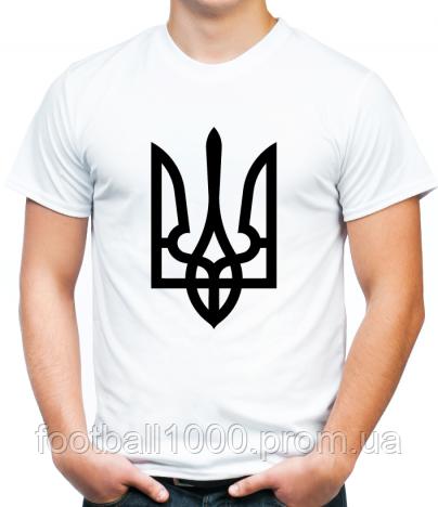 Патриотическая футболка с украинской символикой