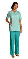 Костюм хирургический женский,медицинская одежда,спецодежда