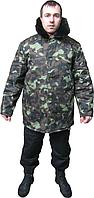 Куртка камуфлированная ватная, мужская, рабочая одеждаКуртка камуфлированная ватная, мужская, рабочая одежда