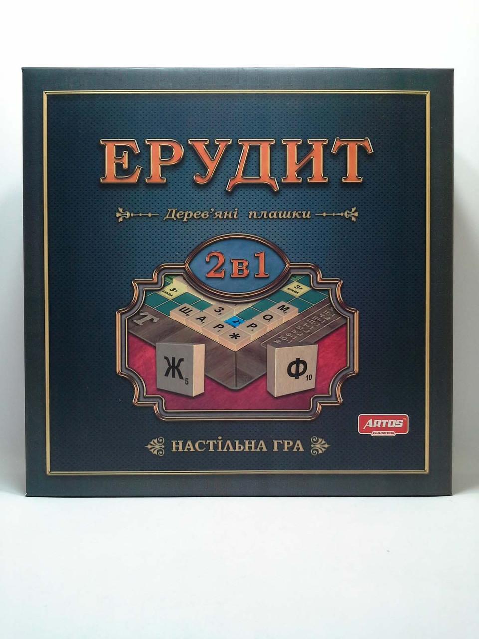 Настільна гра Ерудит Ерудит 2в1