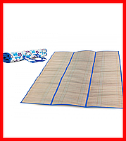 Пляжный коврик из соломки и фольги, фото 1